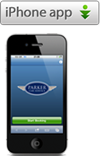 Parker Car Service iPhone / iPad App